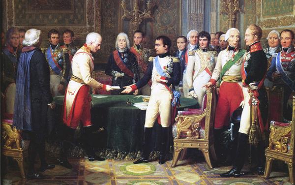 Россия и Франция в Европе перед войной 1812 года